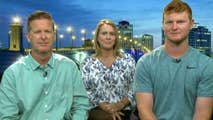Arizona Diamondbacks draftee Pavin Smith and his parents Pamela and Timothy speak out on 'Fox & Friends' on the gift of a lifetime.