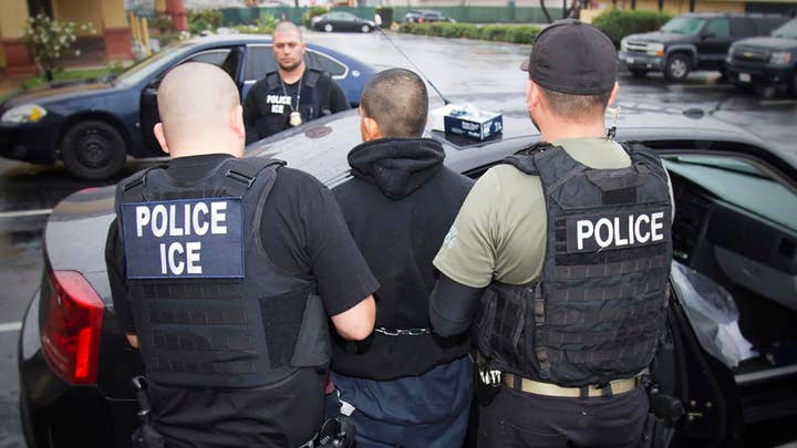 Immigration arrests up, deportations down under Trump