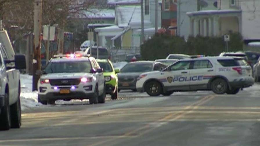 The bodies were found in a basement apartment in Troy, New York; authorities said the incident was not a random act.