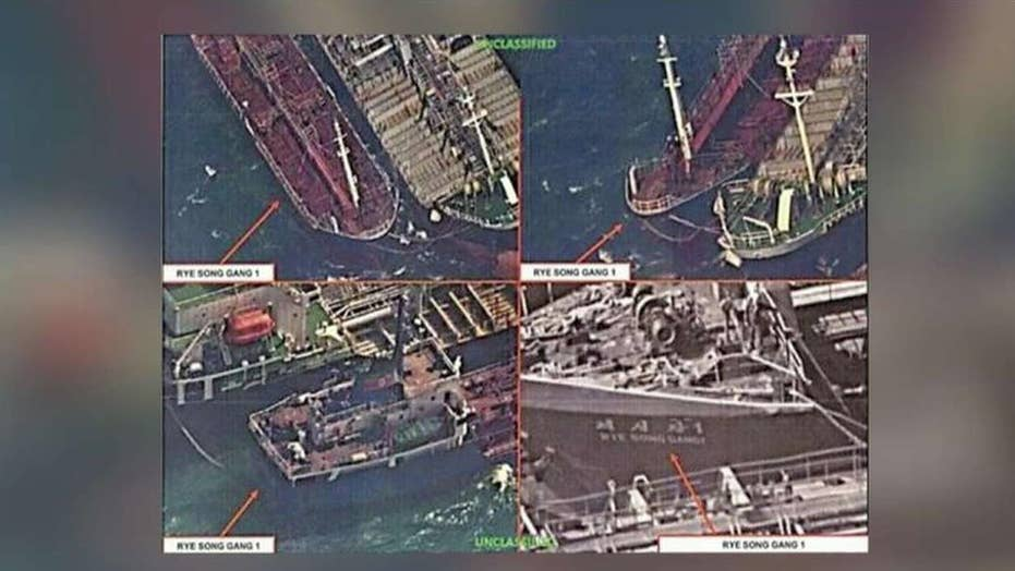 US satellites reportedly catch China selling oil to NKorea