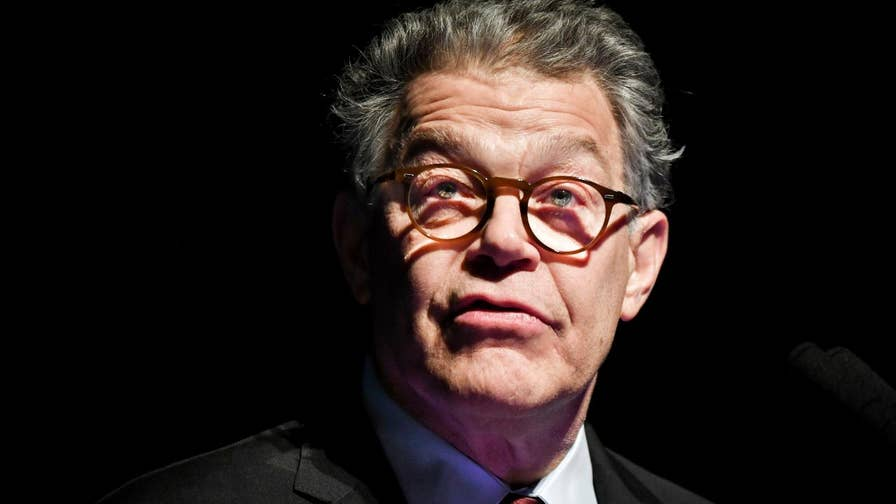 Outgoing Minnesota Senator Al Franken said goodbye to supporters in Minneapolis, but vowed to remain active in politics.