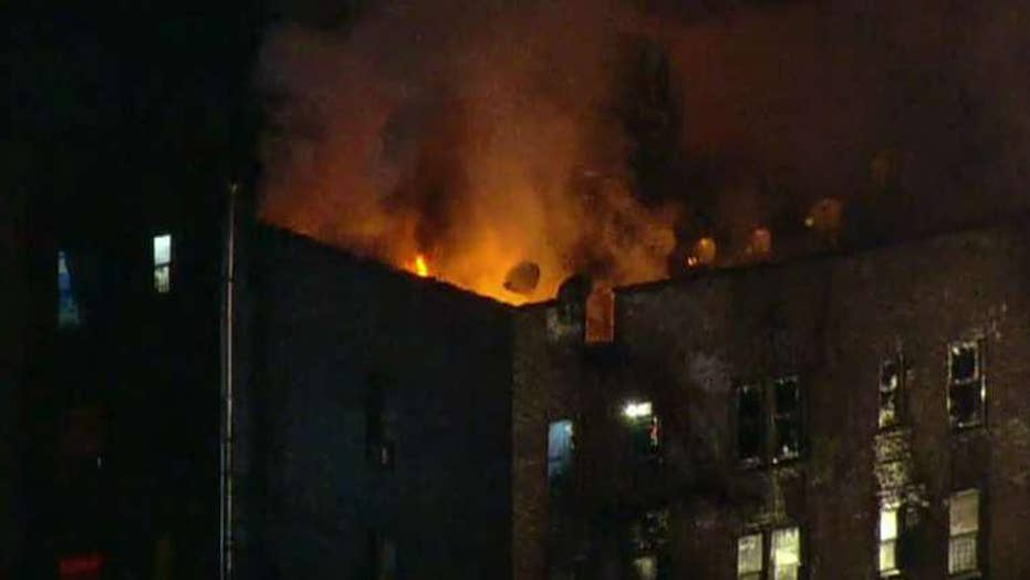 12 dead in New York City apartment fire