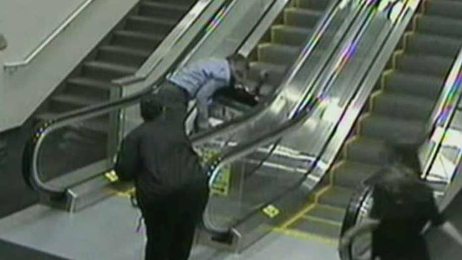 Family suing after airport fall leads to woman's death