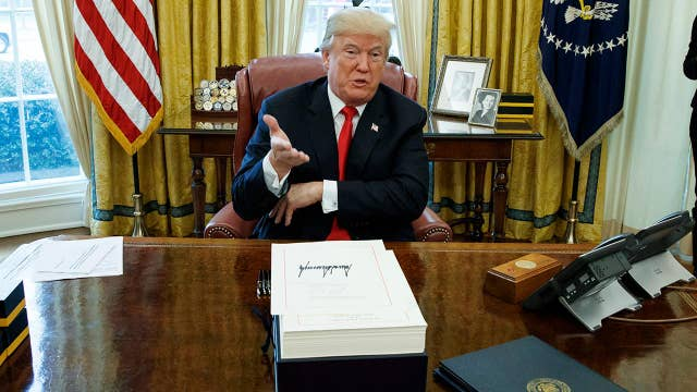 New look at Trump's 2017 accomplishments, 2018 to-do list
