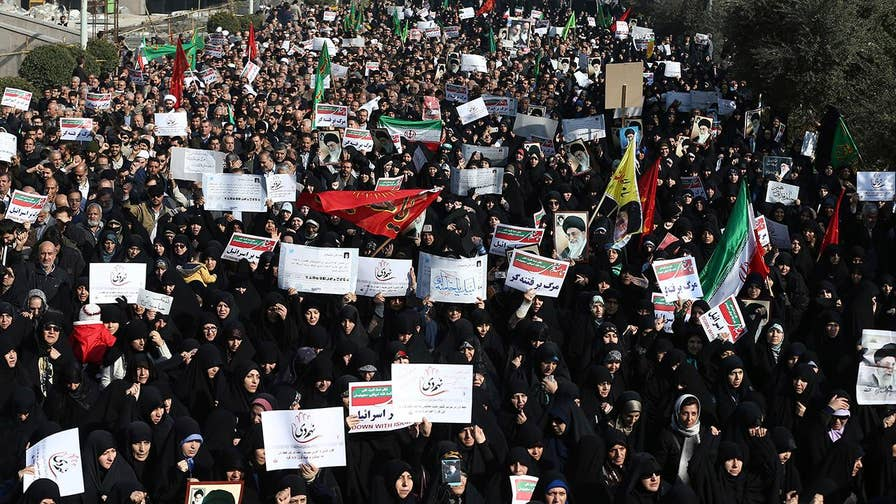 Kitty Logan reports on wave of demonstrations across Iran.