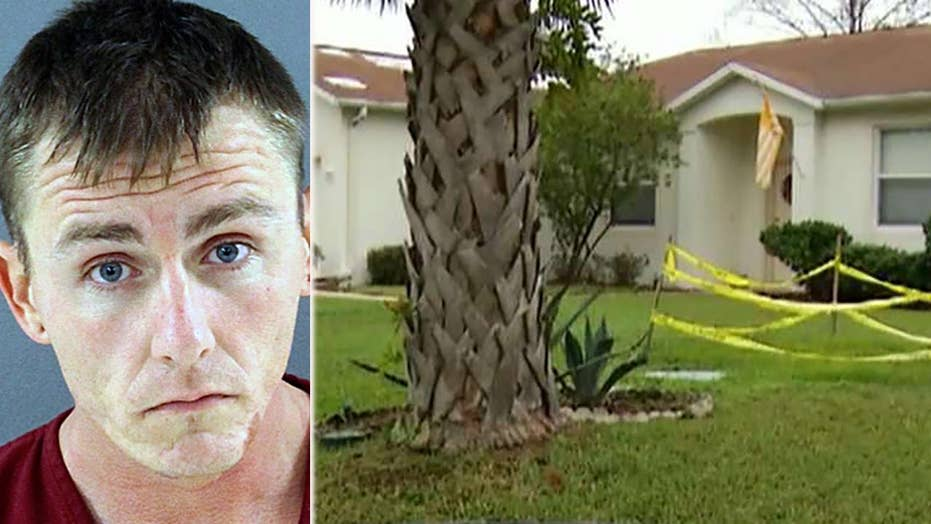 Florida man accused of trying to electrocute pregnant wife