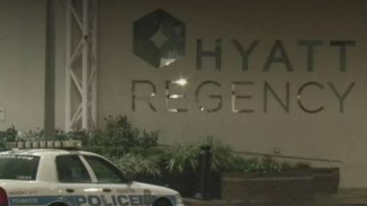 Man found with weapons arsenal in Houston hotel