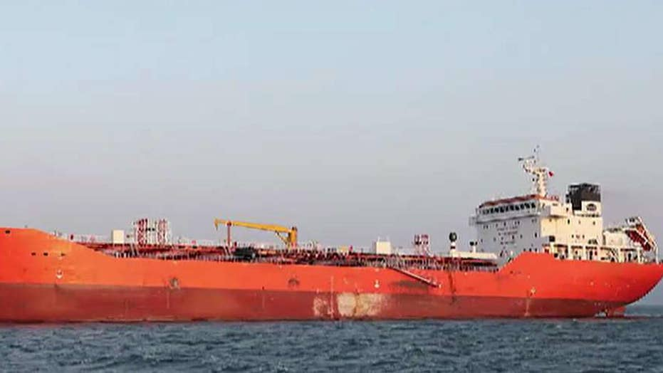 Second ship suspected of smuggling oil
