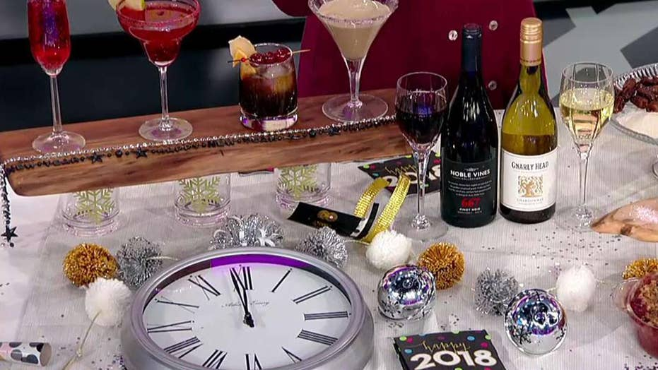 Last minute cocktail and appetizer ideas for New Year's Eve