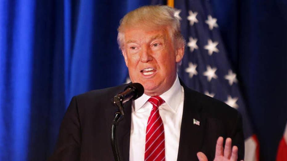 Trump says press will back him