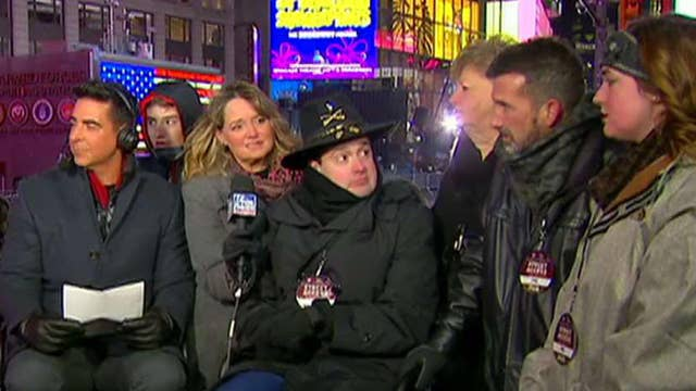 US Army veteran gets a special New Year's surprise