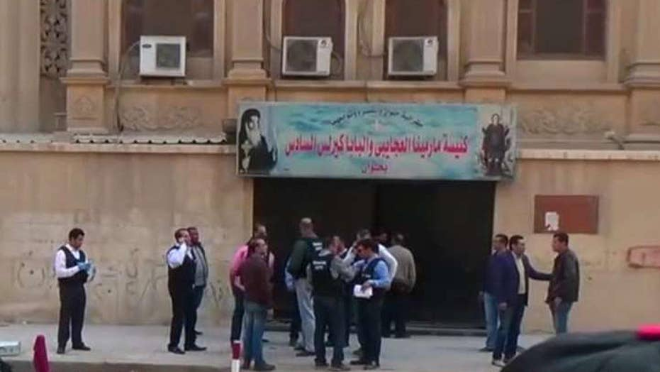 Coptic Christians targeted in Egypt
