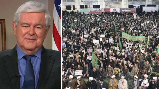 Newt Gingrich on Iran protests, 2018 political landscape
