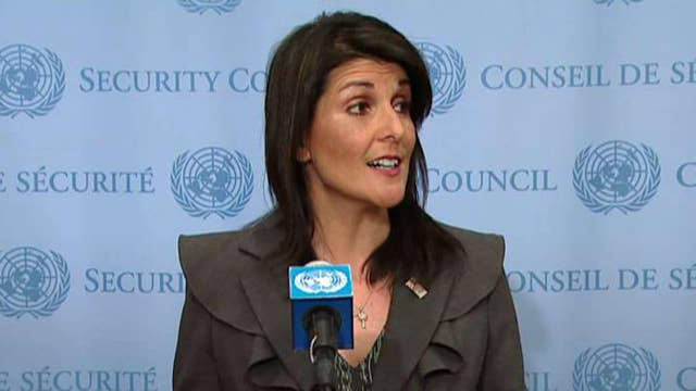 Haley: We want to help amplify the voices of the Iranians