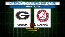Where's the game being held, how much are tickets, and when was the last time Georgia and Alabama faced off? A look at the 2018 College Football National Championship by the numbers