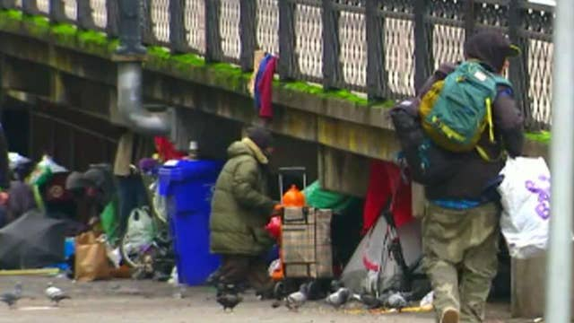 West coast homelessness drives businesses out