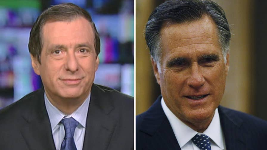 'MediaBuzz' host Howard Kurtz weighs in on the mainstream media now propping Mitt Romney up as a statesman worthy of the United States Senate after harshly criticizing him during the 2012 presidential election.