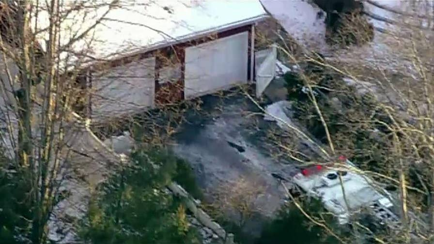 First responders reportedly put out a fire at Bill and Hillary's property in Chappaqua.
