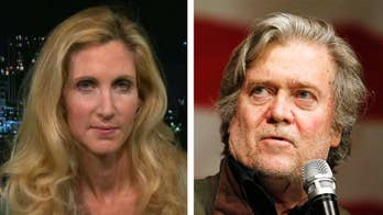 Reaction from Ann Coulter and Rich Lowry on 'The Ingraham Angle' to Bannon, Trump feud.