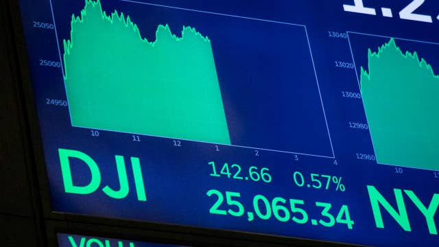Dow closes above 25,000 in record-breaking day