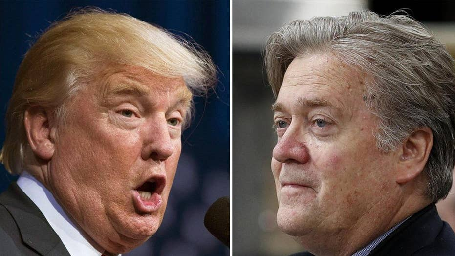 Trump lawyer sends Bannon cease-and-desist letter