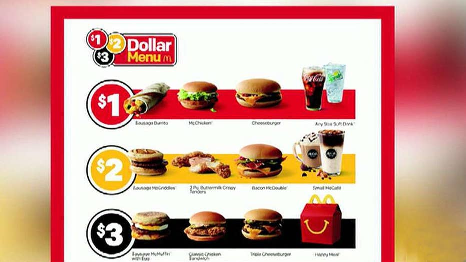 McDonald's, Wendy's and Taco Bell in price war