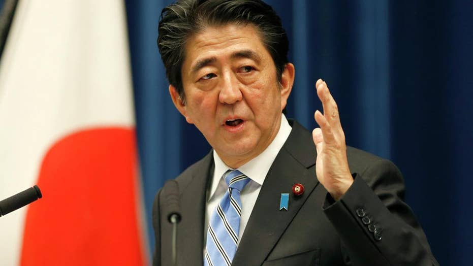 Japanese PM: North Korea poses biggest threat since WWII
