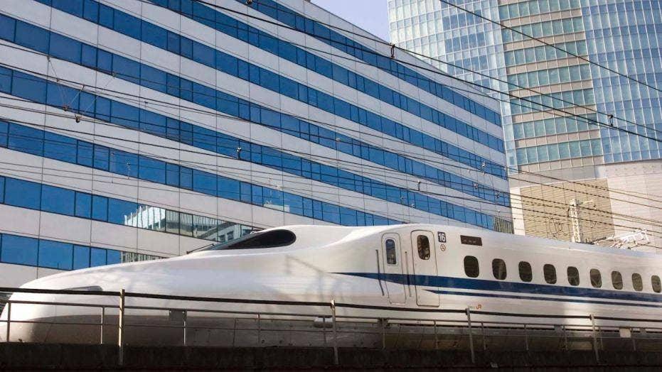 Texas railroad company hoping to make bullet train a reality