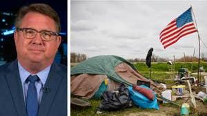 El Cajon Mayor Bill Wells argues California Legislature's liberalism deserves blame for increase in homelessness. #Tucker