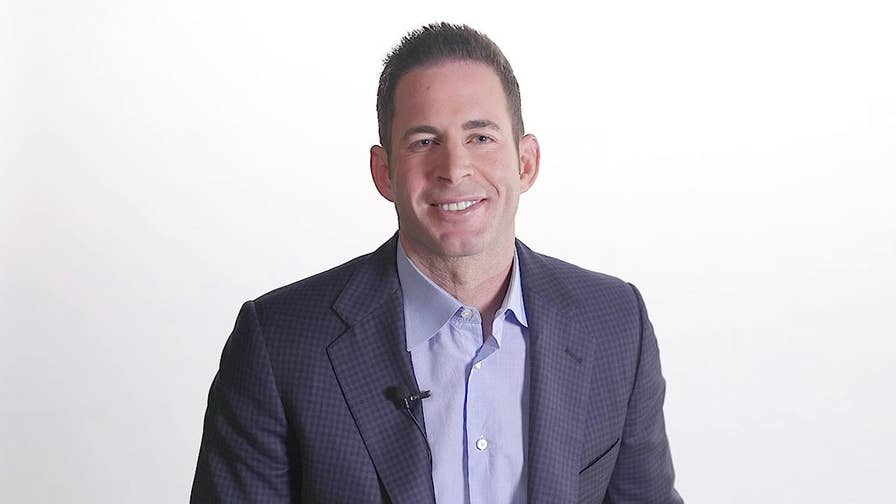 How Tarek El Moussa went from living in a garage to starring on HGTV's 'Flip or Flop.'