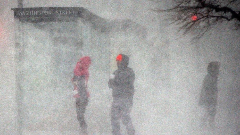 Eric Shawn reports: Boston's 'bomb cyclone' hits