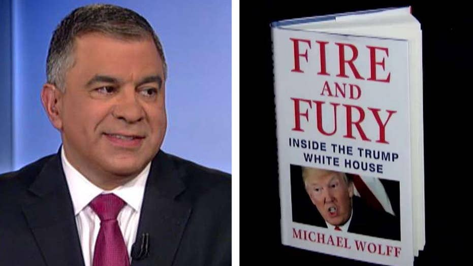 Bossie questions Wolff's depiction of Trump's White House