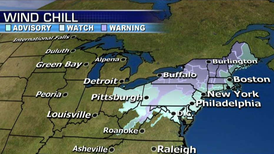 East Coast hit by frigid temperatures after winter storm