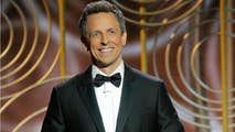 2018 Golden Globes host Seth Meyers did not hold back mocking disgraced Hollywood men Harvey Weinstein and Kevin Spacey, even giving a predictable dig to President Trump.