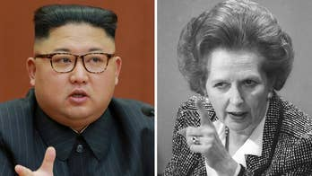 Ahead of the first diplomatic talks between North and South Korea in more than two years, Nile Gardiner, director of the Margaret Thatcher Center for Freedom at The Heritage Foundation, says the 'Iron Lady' lived by the principle that you can never appease evil.