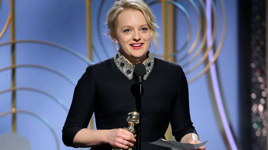 Why Scientologist Elisabeth Moss is getting slammed by critics for being 'hypocritical' in her Golden Globes speech