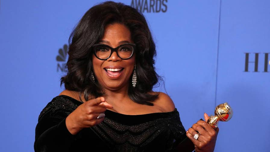 "Could Oprah Winfrey be our next president in 2020? See how NBC network and celebrities dubbed Oprah ""our future president"" following her speech at the Golden Globe awards."
