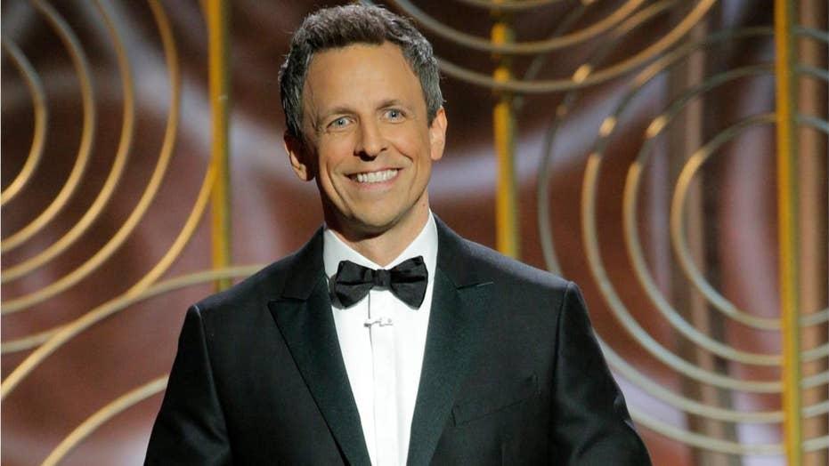 Golden Globes: Seth Meyers mocks Weinstein, Spacey, Trump