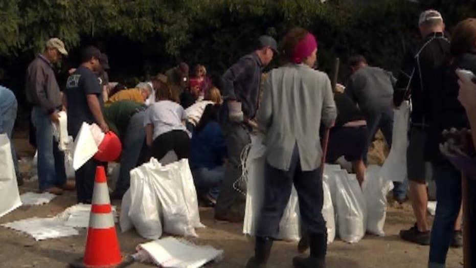 Santa Barbara residents prepare for possible flash floods