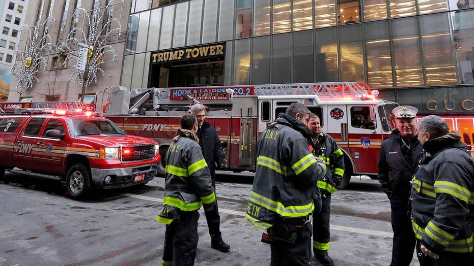 Minor injuries after fire breaks out on Trump Tower roof