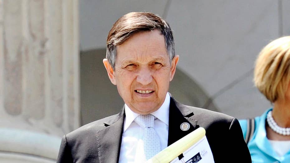 Kucinich files in Ohio governor race