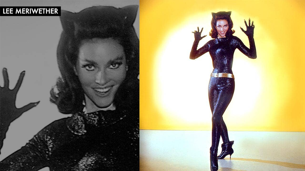 Catwoman lee meriwether recalls steamy on set kiss with batman catwoman lee meriwether recalls steamy on set kiss with batman star adam west fox news solutioingenieria Images