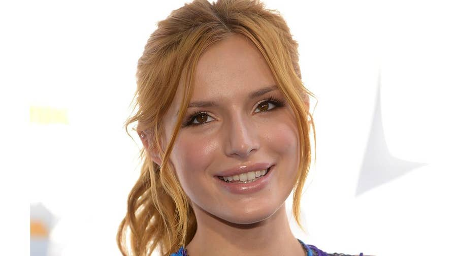 Actress Bella Thorne says she was sexually abused to age 14 and was never taught right from wrong