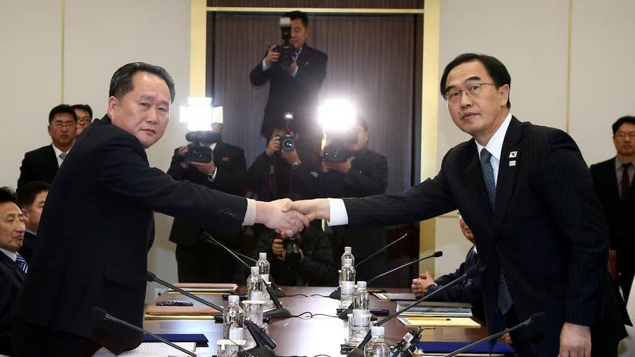North and South Korea met for the first time in more than two years to discuss the North's participation in the 2018 PyeongChang Winter Olympics. Here's are the details surrounding the meeting and odd requests made from the North.