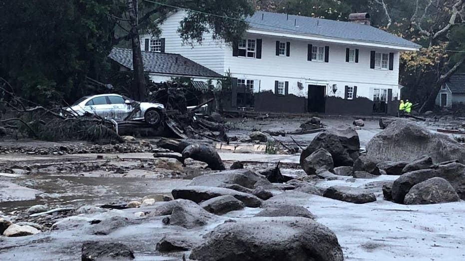 Mudslides in Southern California: See devastating images