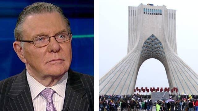 Gen. Jack Keane on the future of sanctions on Iran