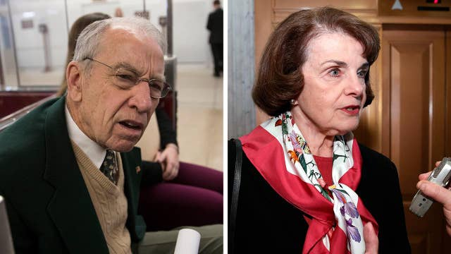 Grassley slams Feinstein for releasing critical testimony