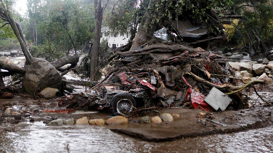 Deadly mudslides hit southern California