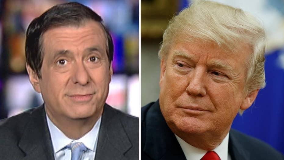 Kurtz: Trump touts 'great reviews' for bipartisan talk
