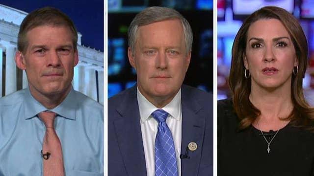 Reps. Meadows and Jordan demand access to dossier docs